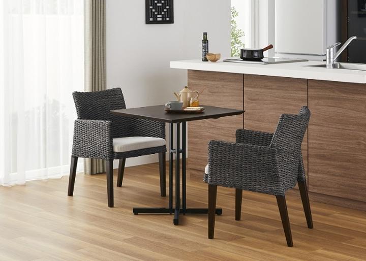 カフェ・テーブルv03 セット チェア×2:画像18