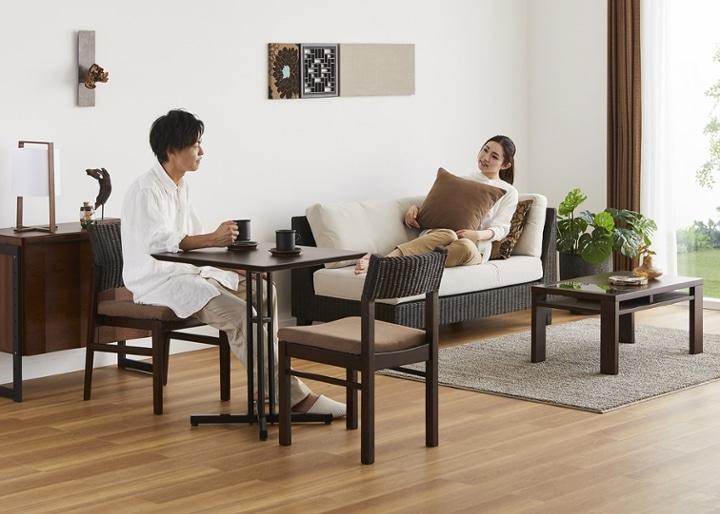 カフェ・テーブルv03 セット チェア×2:画像19