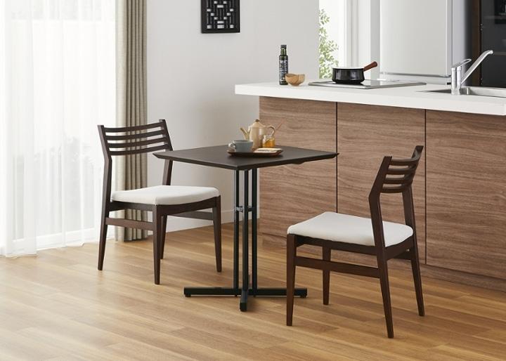カフェ・テーブルv03 セット チェア×2:画像2
