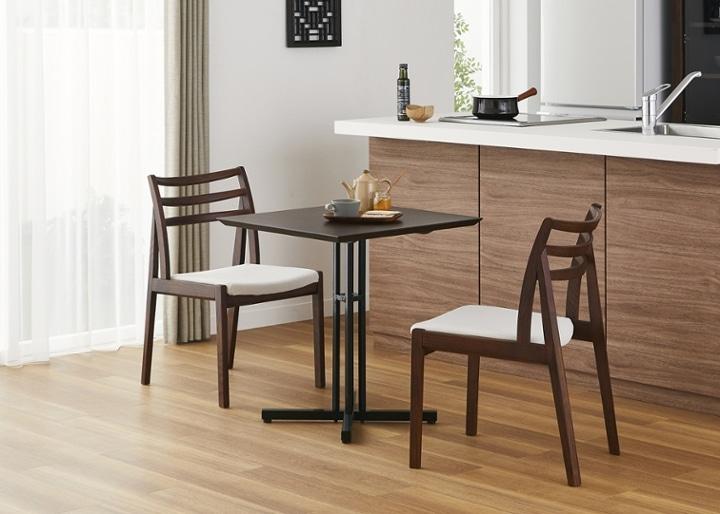 カフェ・テーブルv03 セット チェア×2:画像4
