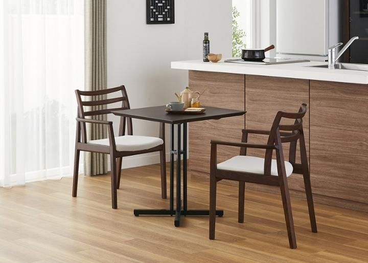 カフェ・テーブルv03 セット チェア×2:画像5