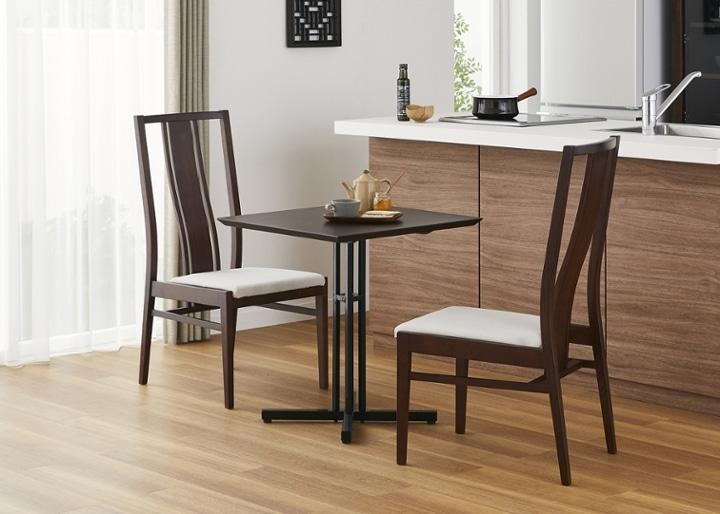 カフェ・テーブルv03 セット チェア×2:画像7