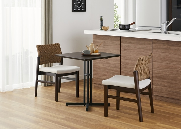 カフェ・テーブルv03 セット チェア×2:画像9