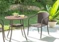 ガーデン・スタッキング・アームチェア:画像1