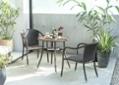 ガーデン・スタッキング・アームチェア:画像2