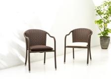 ガーデン・スタッキング・アームチェア用座面クッション