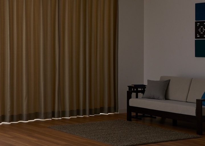 ドレープカーテン マウージ (遮光):画像20