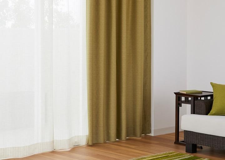 ドレープカーテン マウージ (遮光):画像3