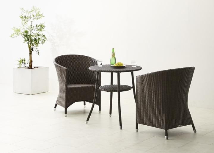 ガーデン・テーブル 700 セット 椅子2脚:画像7