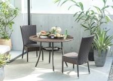 ガーデン・テーブル 1000 セット チェア×2