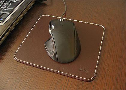 a.flatオリジナル本革マウスパッド:画像1