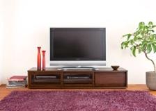ガラス・テレビボード Lv01