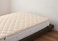 ウォッシャブル・ウール・ベッドパッド:画像3