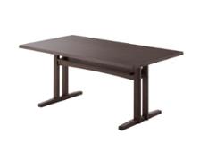 モク・ソファダイニングテーブル 1500:ディティール画像4