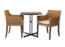 カフェ・テーブルv03 セット チェア×2:ディティール画像1