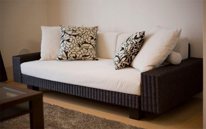 No.18 ご夫婦で過ごすリラックス空間 10畳リビングルーム(1LDK)を広く使ったインテリア実例:画像2