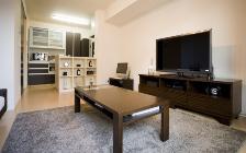 No.18 ご夫婦で過ごすリラックス空間 10畳リビングルーム(1LDK)を広く使ったインテリア実例:画像3