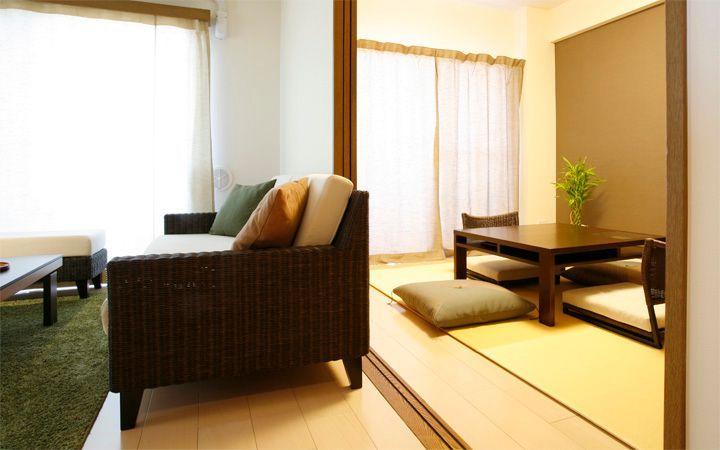 No.20  高級感のある和モダンな空間を一人暮らしで堪能する贅沢インテリア:画像4