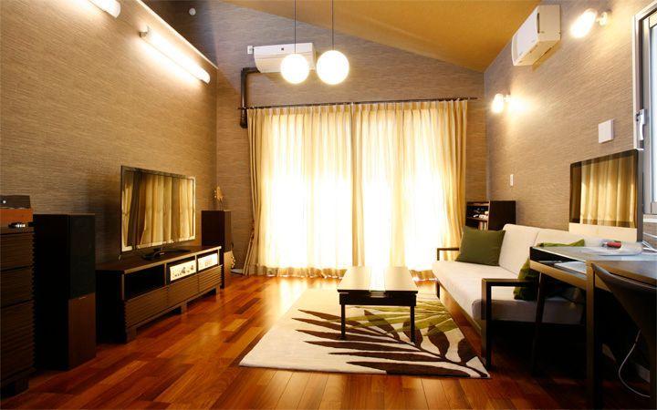 No.23 広いワンルームをアジアンテイストで統一した高級感のあるモダンインテリア実例:画像1