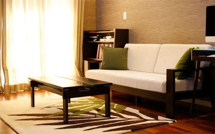 No.23 広いワンルームをアジアンテイストで統一した高級感のあるモダンインテリア実例:画像2