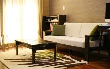 No.23 広いワンルームをアジアンテイストで統一した高級感のあるモダンインテリア実例