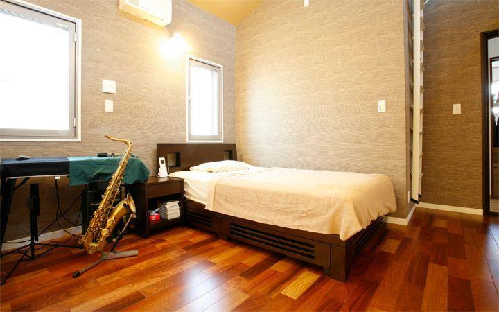 No.23 広いワンルームをアジアンテイストで統一した高級感のあるモダンインテリア実例:画像4