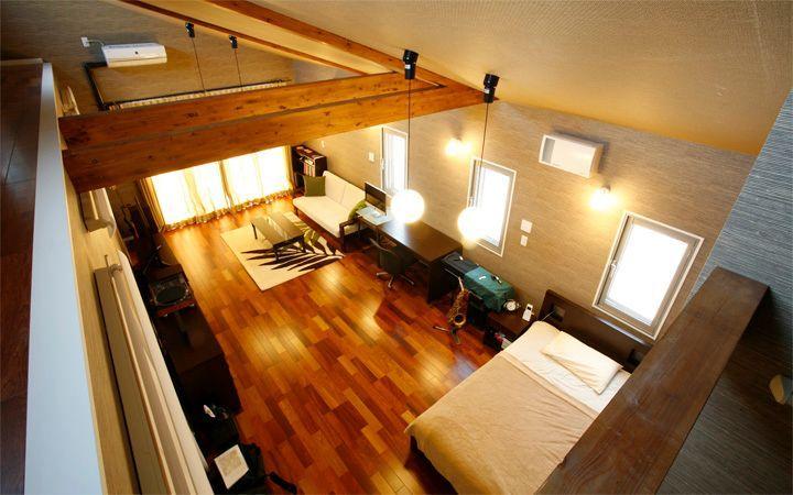 No.23 広いワンルームをアジアンテイストで統一した高級感のあるモダンインテリア実例:画像5