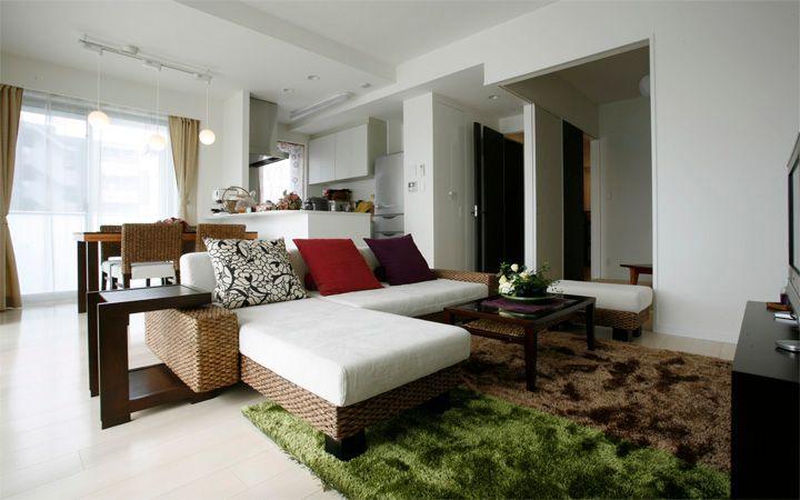 No.24 新居マンション(3LDK)で実現した機能美と共に暮らすアジアンインテリア実例:画像1