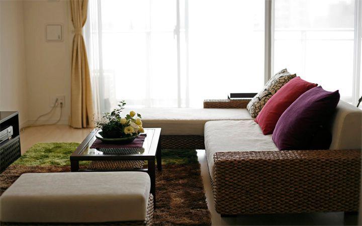 No.24 新居マンション(3LDK)で実現した機能美と共に暮らすアジアンインテリア実例:画像2
