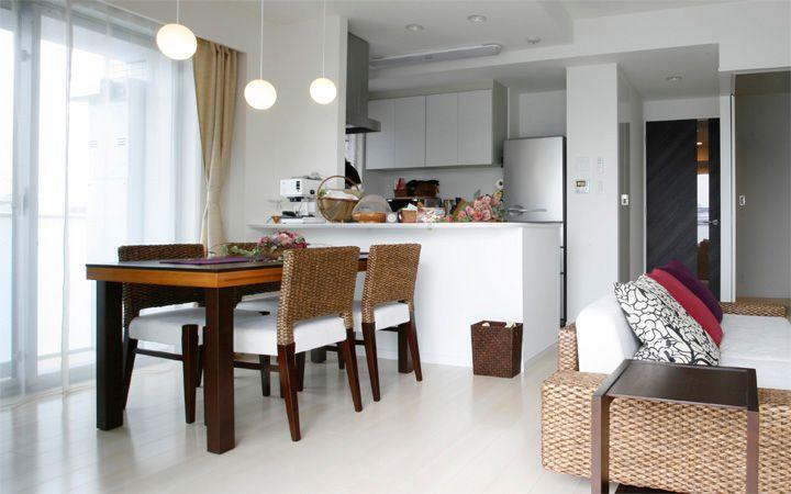 No.24 新居マンション(3LDK)で実現した機能美と共に暮らすアジアンインテリア実例:画像3