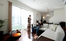 No.72 愛犬とご夫婦でゆったりとしたリビングルーム(3LDK)で過ごすアジアンリゾートインテリア