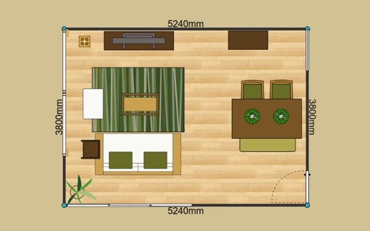 No.68 ロースタイルで部屋を広く見せるインテリアコーディネート:画像5