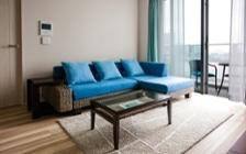 No.96 リバーサイド・ブルーの清涼感あるリゾートコーディネート