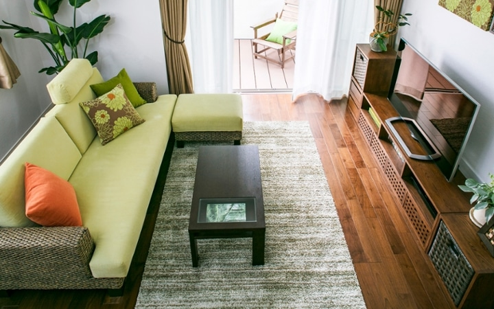 No.101 リゾートに佇むプライベートヴィラのようなグリーンの空間:画像4