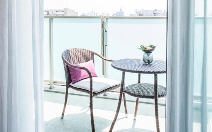 No.104 シックなパープルスタイルが映える都会のマンション空間:画像5