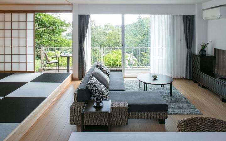 No.107 グレーとグリーンの対比が美しい 山リゾートのセカンドハウス:画像2