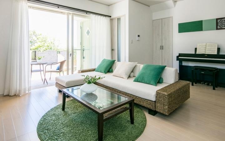 No.108 リゾートのような海と緑が広がるブルー&グリーンのセカンドハウス:画像1