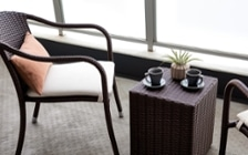 No.110 自然や温もりを感じるリゾートホテル風のマンションコーディネート