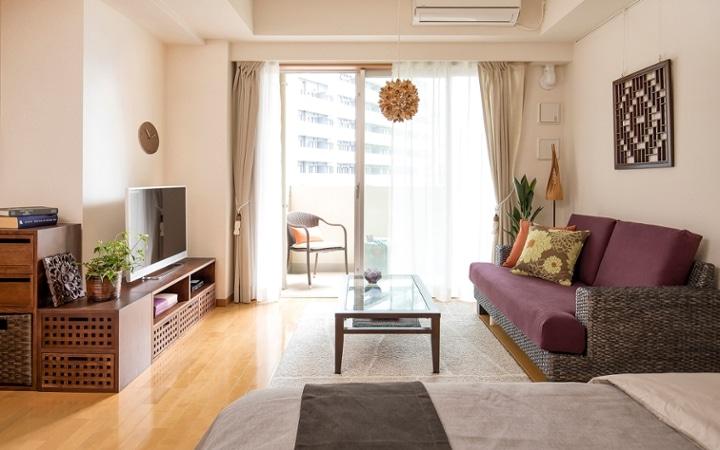 No.111 アジアの暮らしを楽しむ一人暮らしワンルーム:画像1