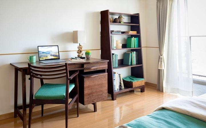 No.115 沖縄の碧い海と常緑の森を感じるリゾートホテル風コーディネート:画像14