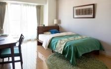 No.115 沖縄の碧い海と常緑の森を感じるリゾートホテル風コーディネート