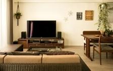 No.119 ダークブラウンのインテリアで統一、おしゃれな二人暮らし空間:画像3