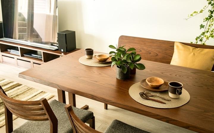 No.119 ダークブラウンのインテリアで統一、おしゃれな二人暮らし空間:画像6