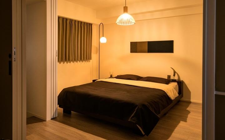 No.119 ダークブラウンのインテリアで統一、おしゃれな二人暮らし空間:画像11