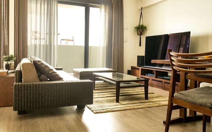 No.119 ダークブラウンのインテリアで統一、おしゃれな二人暮らし空間:画像24