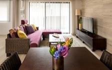 No.120 二人暮らしの3LDKインテリアコーディネート ~パープル×イエローで彩るアジアンリゾート空間~:画像2
