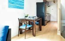 No.121 戸建て3LDKのインテリアコーディネート ~海のような開放感を感じる家作り~