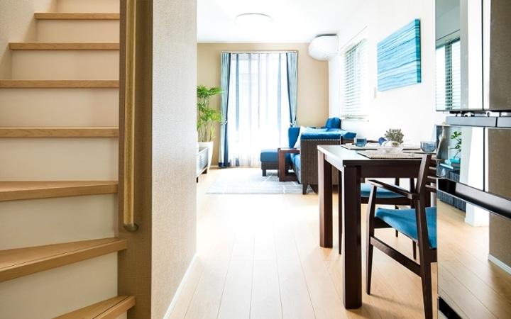 No.121 戸建て3LDKのインテリアコーディネート ~海のような開放感を感じる家作り~:画像17