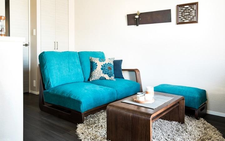 No.122 こだわりの家具・インテリアに囲まれた一人暮らし1LDK空間:画像9
