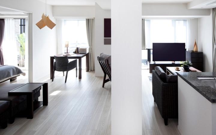 No.123 都会のリゾートを感じる 1LDKマンションの家具・インテリアコーディネート:画像1